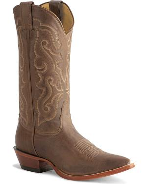 Nocona Vintage Cowboy Boots - Needle Point Toe