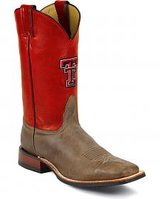 Nocona Men's Texas Tech College Boots - Square Toe