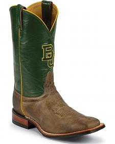 Nocona Men's Baylor University College Cowboy Boots - Square Toe