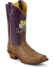 Nocona Men's Louisiana State University College Boots - Snoot Toe