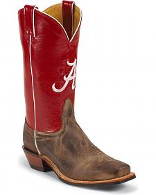 Nocona Men's University of Alabama College Cowboy Boots - Square Toe