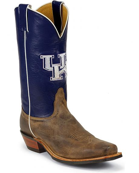 Nocona Men's University of Kentucky College Cowboy Boots - Square Toe