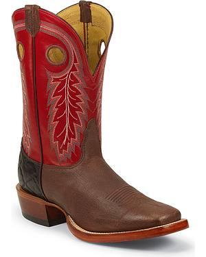 Nocona Caprock Cowboy Boots - Square Toe