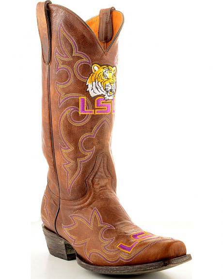 Louisiana State University Gameday Cowboy Boots - Snoot Toe