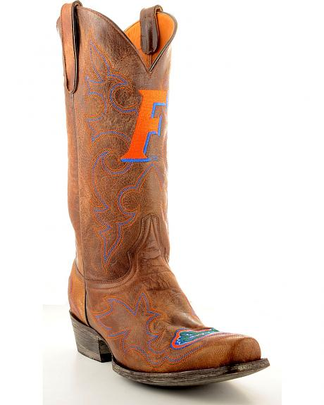 University of Florida Gameday Cowboy Boots - Snoot Toe