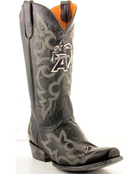 West Point Army Gameday Cowboy Boots - Snoot Toe