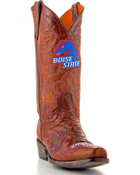 Boise State University Gameday Cowboy Boots - Snoot Toe