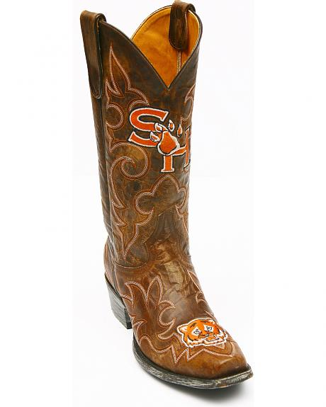 Sam Houston University Gameday Cowboy Boots - Snoot Toe