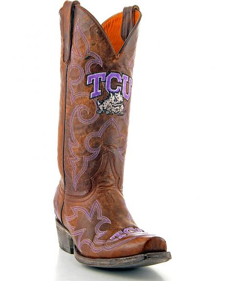 Texas Christian University Gameday Cowboy Boots - Snoot Toe