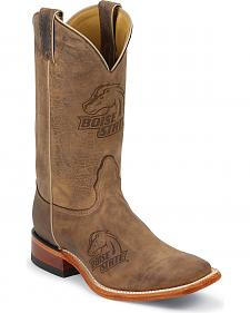 Nocona Boise State University Broncos Cowboy Boots - Square Toe