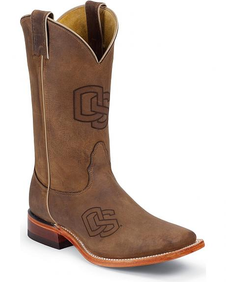 Nocona Oregon State University Beavers Cowboy Boots - Square