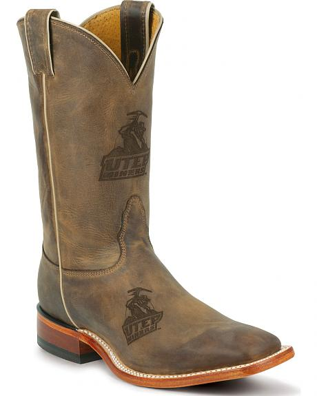 Nocona Men's University of Texas at El Paso Miners Cowboy Boots