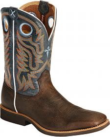 Twisted X Western Roper Cowboy Boots - Square Toe