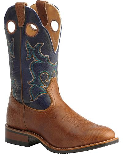 Boulet Super Roper Boot Round Toe Western & Country 166