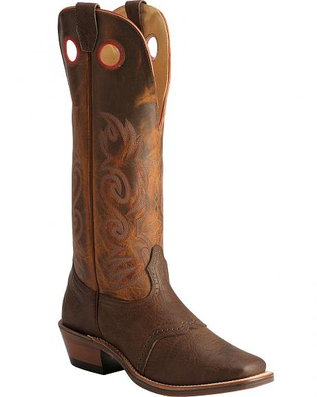 Boulet Saddle Buckaroo Boots - Square Toe