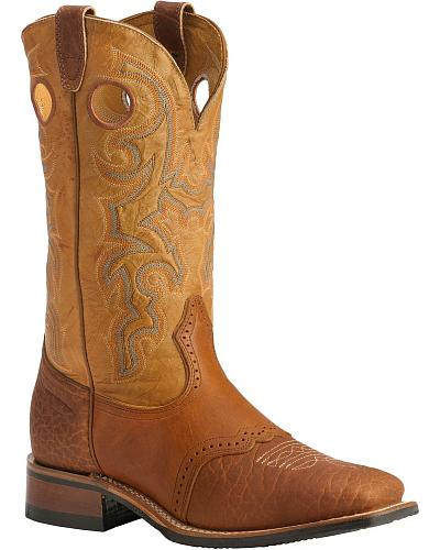 Boulet Saddle Rider Sole Boots Square Toe Western & Country 231