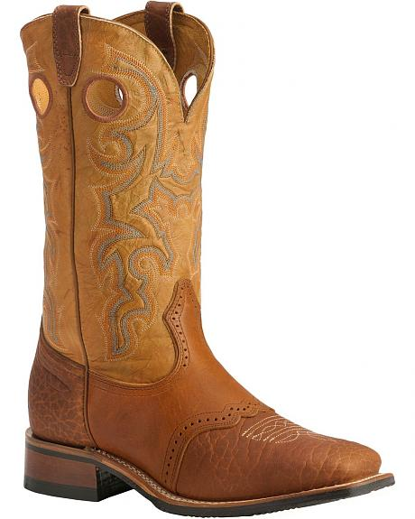 Boulet Saddle Rider Sole Boots - Square Toe