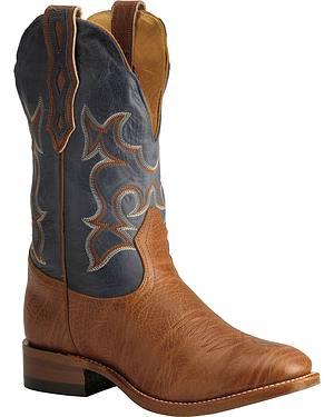 Boulet Super Roper Cowboy Boots - Round Toe