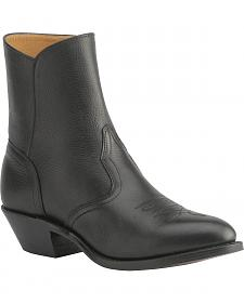 Boulet Western Zipper Boots - Round Toe