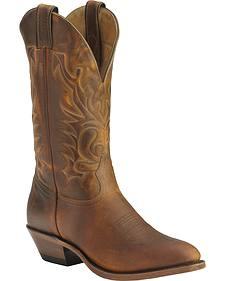 Boulet Cowboy Boots - Med Toe