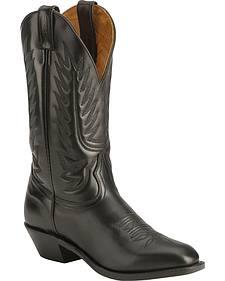 Boulet Dress Cowboy Boots - Round Toe