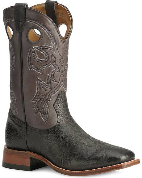 Boulet Cowboy Boots - Wide Square Toe