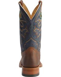 Boulet Stockman Cowboy Boots - Wide Square Toe at Sheplers