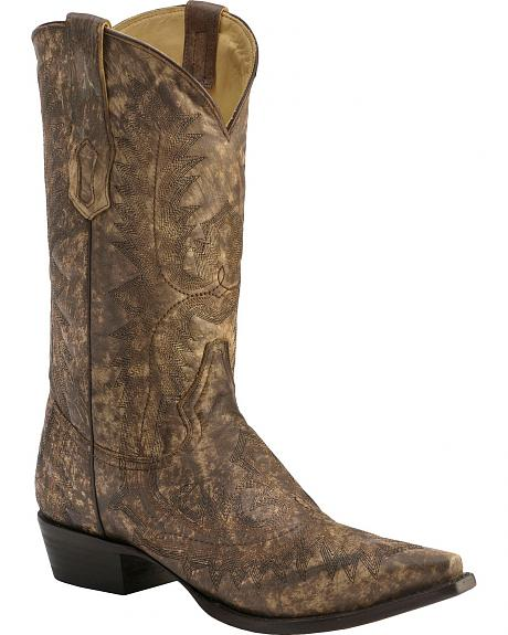 Corral Full Stitch Cowboy Boots - Pointed Toe