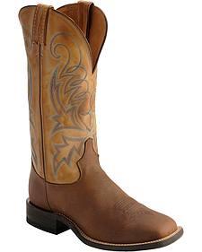 Tony Lama Americana Lakota Cowboy Boots - Square Toe