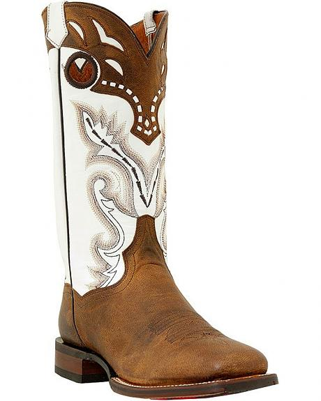 Dan Post Bay Apache Buckaroo Boots - Square Toe