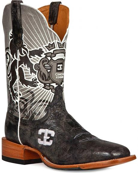 Cinch Edge Honorable Cowboy Boots- Square Toe