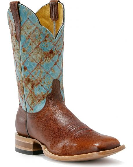 Cinch Classic Renegade Cowboy Boots - Square Toe