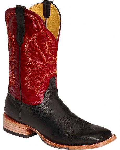 Cinch Classic Renegade Western Cowboy Boots - Square Toe