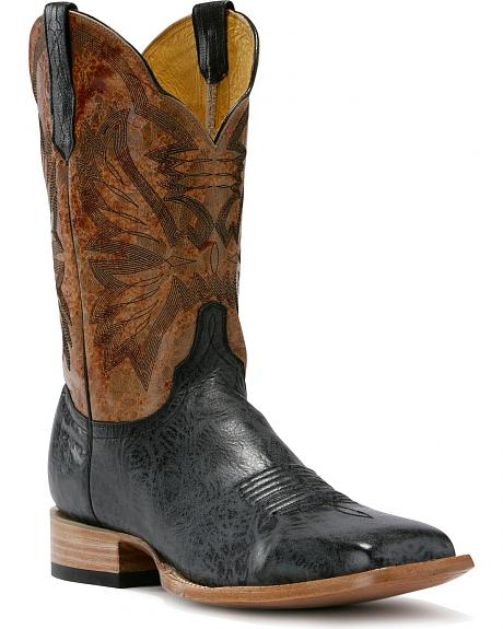 Cinch Classic Shoulder Cowboy Boots - Square Toe
