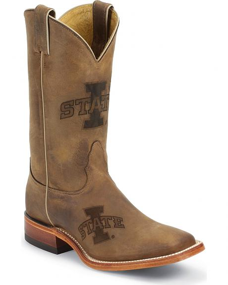Nocona Iowa State University College Boots - Square Toe