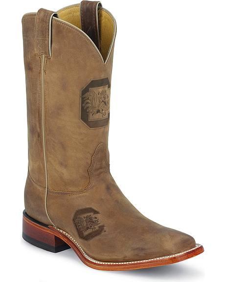 Nocona University of South Carolina College Boots - Square Toe