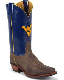 Nocona Men's University of West Virginia College Cowboy Boots - Square Toe