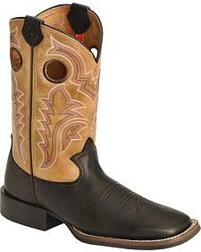 Tony Lama 3R Stockman Western Boots - Square Toe