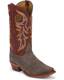 Nocona Legacy Buffalo Western Boots - Square Toe