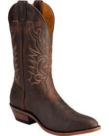 Boulet Copper Cowboy Boots - Medium Toe
