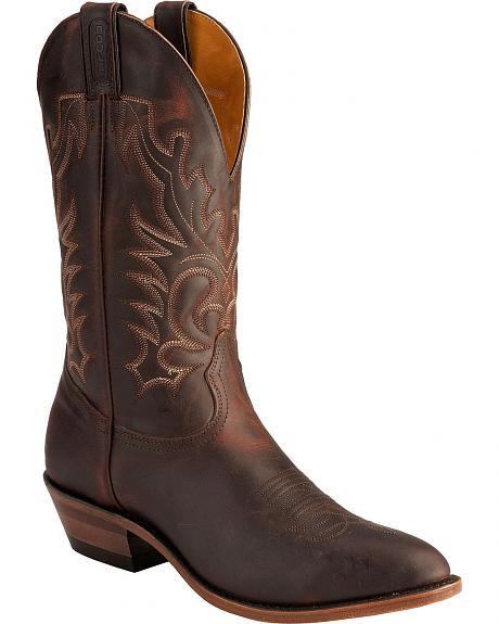 Boulet Copper Cowboy Boots - Medium Toe