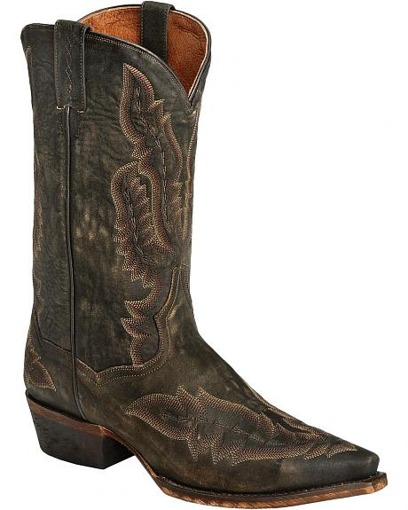 Red Ranch Cowboy Boots - Snip Toe