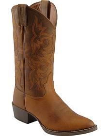 Justin Stampede Western Boots - Medium Toe