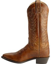 Justin Traditional Leather Western Cowboy Boots at Sheplers