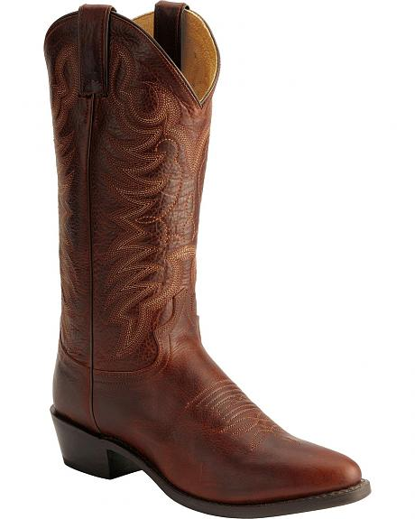 Justin Traditional Western Boots - Round Toe