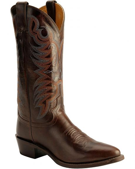 Justin Traditional Western Boots - Medium Toe