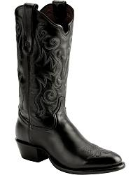 Tony Lama Black Label ELKO Cowboy Boots at Sheplers