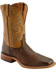 Tony Lama Americana Cowboy Boots - Square Toe