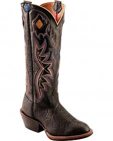 Tony Lama 3R Buckaroo Cowboy Boots - Round Toe