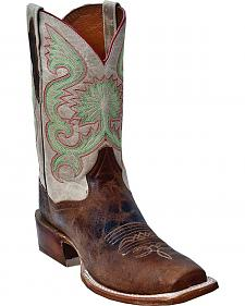 Dan Post Free Hand Cutter Cowboy Boots - Square Toe